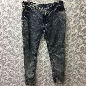 PZI acid wash jeans size 18/32